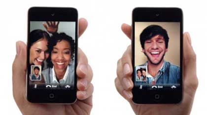apple video face time application could potentially be used for dating