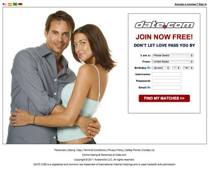 free online dating site on phone