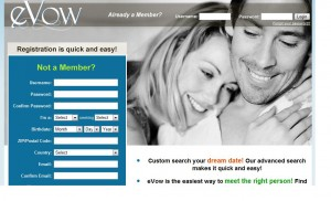 What has happened to evow dating site