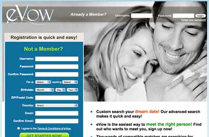Evow internet dating