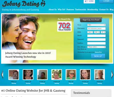 Joburg dating sites