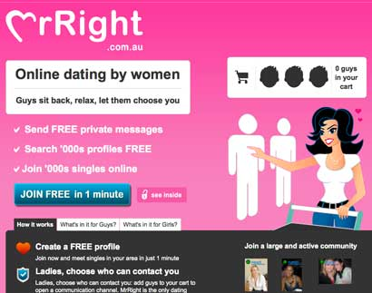 What was the first online dating site in Sydney