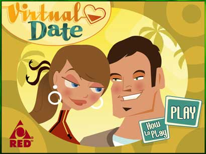 Virtual dating game