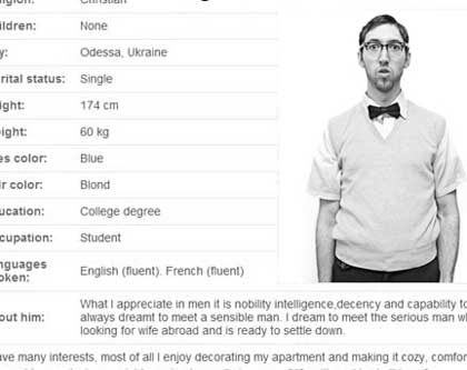 Online dating profile example in Brisbane
