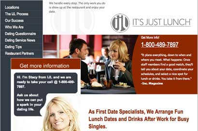 Dating website franchise