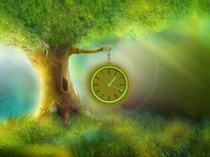 we maybe be missing the true essence of being by focussing on time