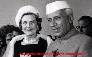 Jawaharlal Nehru and Edwina Mountbatten