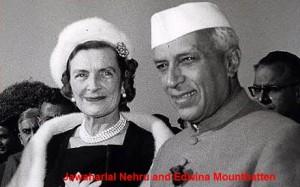Jawaharlal Nehru and Edwina Mountbatten