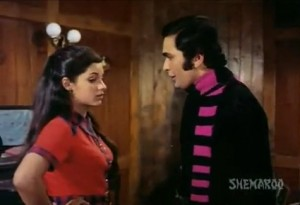 Romance of Dimple Kapadia and Rishi Kapoor