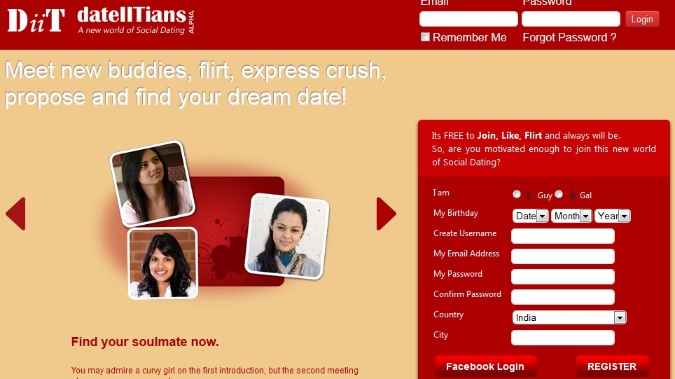 Free online dating sites in india