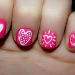 pink-heart-nail-art