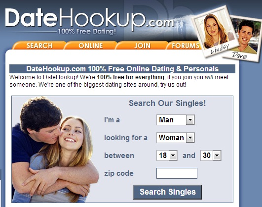 List of free hookup sites