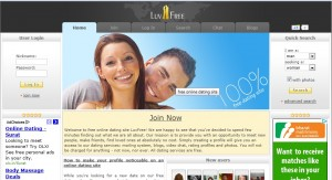 review of free dating sites - luvfree.com