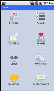 Zoosk Dashboard