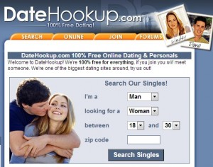 Datehookup and Ease of Navigation - Free Dating Sites Review